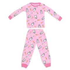 Apple Park - Organic Cotton Pajama - Bunny (6-12M)