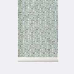 ferm LIVING - Vivid Wallpaper - Mint