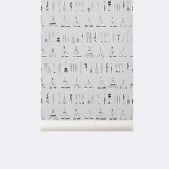 ferm LIVING - Native Wallpaper