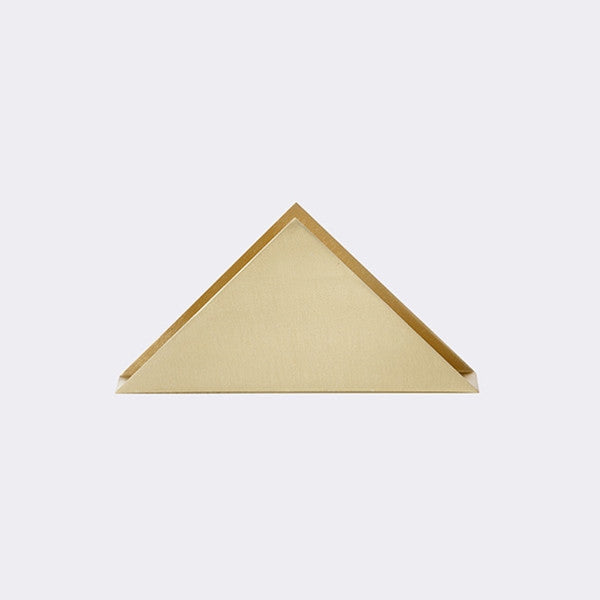 ferm LIVING - Brass Triangle Stand