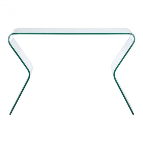 Zuo - Respite Console Table - Clear