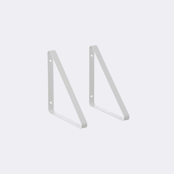 ferm LIVING - Shelf Hangers - White (Set of 2)