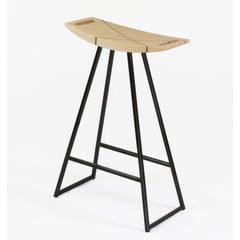 Tronk Design Robert Counter Stool with Inlay Maple