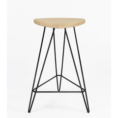 "Tronk Design Madison Counter Stool 26"" Maple"