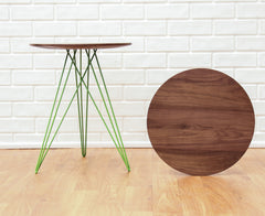 Tronk Design Hudson Side Table No Inlay Walnut