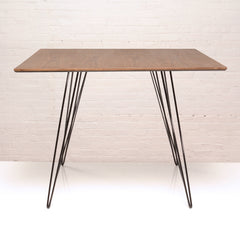 Tronk Design Williams Dining Table Small Square Walnut