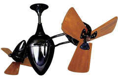 Matthews Ar Ruthiane Ceiling Fan Wood Blades Black Nickel