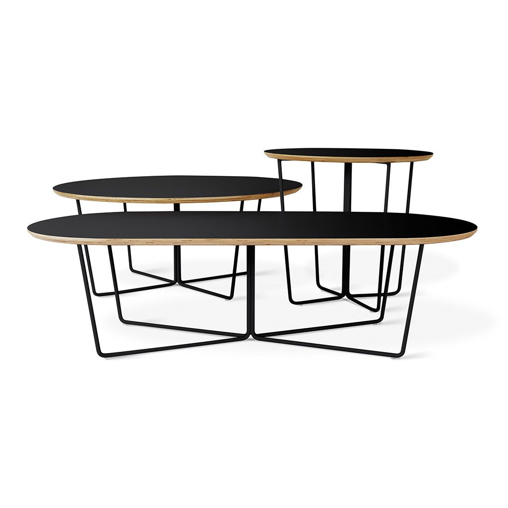 Gus* Modern Array Coffee Table - Oval