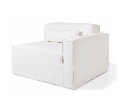 Gus* Modern Mix Slipcover For Right Arm Module
