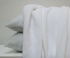 Area Bedding Evan White Blanket Full/Queen