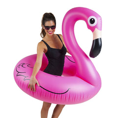 BIGMOUTH Summer - Pink Flamingo Pool Float