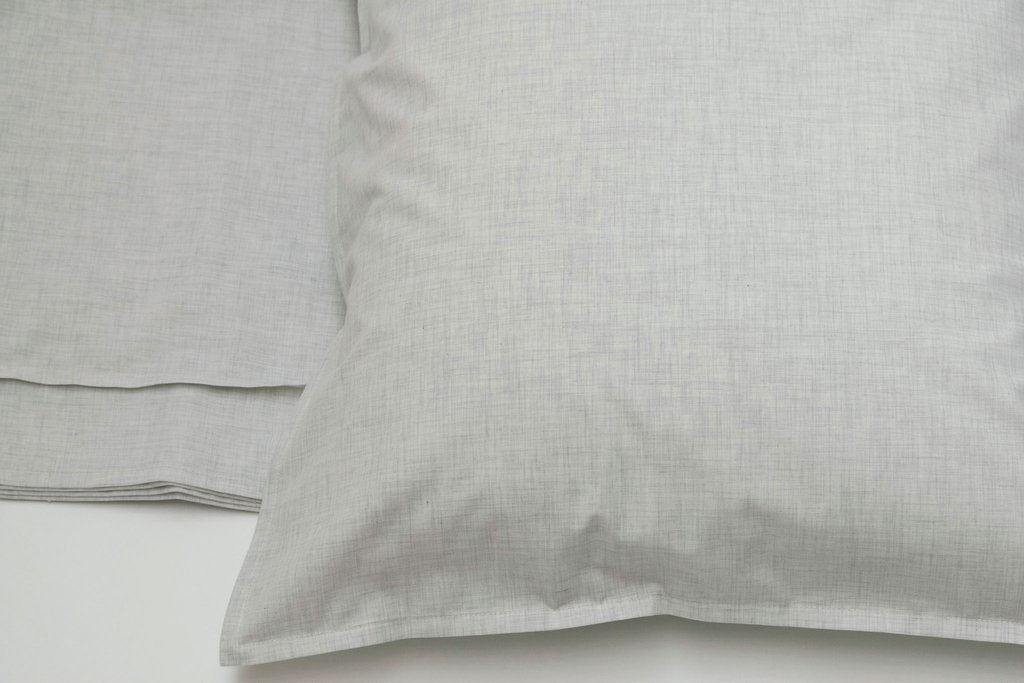 Area Bedding HEATHER Cement Standard  Sham
