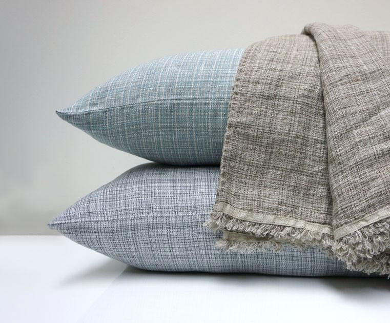 Area Bedding Hazel Throw Grey