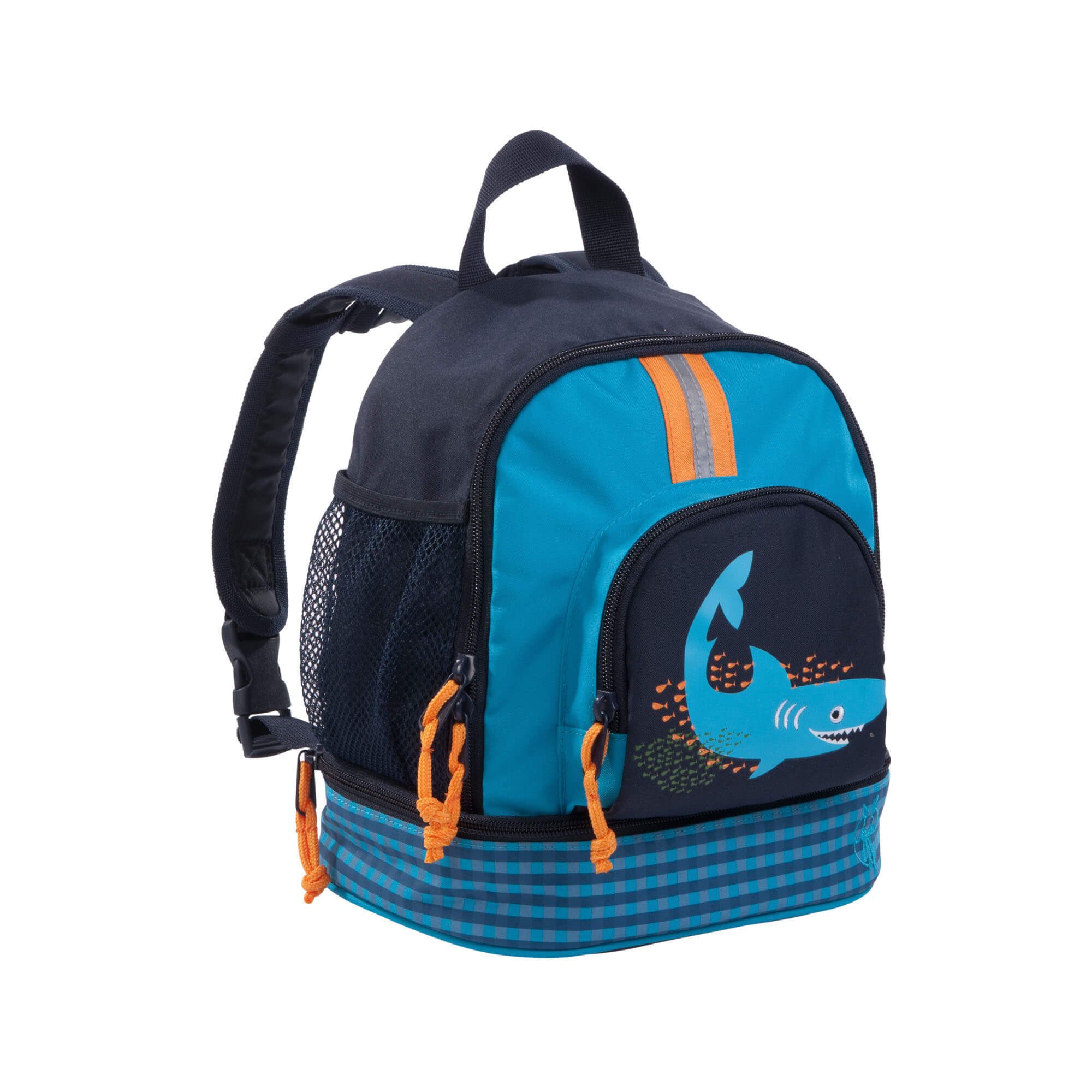 Lassig 4kids Mini Backpack 2 Shark Ocean