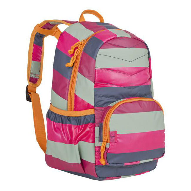 Lassig 4kids Mini Quilted Backpack Striped Magenta