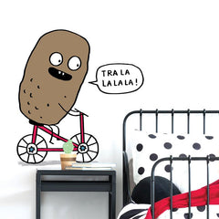 Adzif Wall Sticker Potato