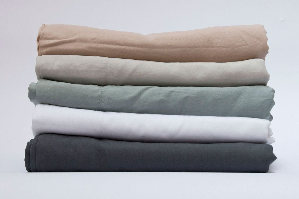 Area Bedding Perla Celeste Queen Fitted Sheet