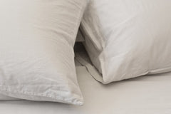 Area Bedding PERLA Porcelain Cal-king Fitted Sheet