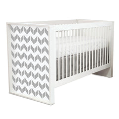 P'kolino Chevron Convertible Crib