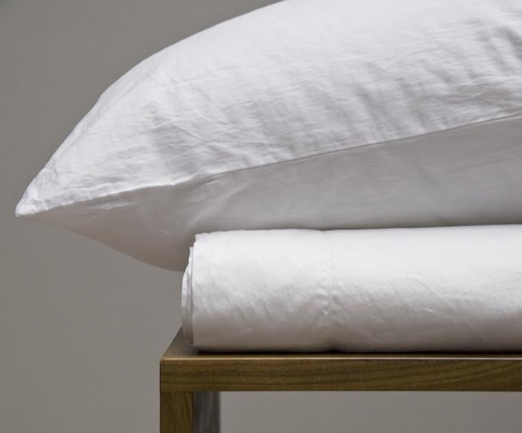 Area Bedding Perla White Duvet Cover King