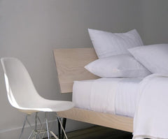 Area Bedding Perla White Flat Sheet Full/Queen