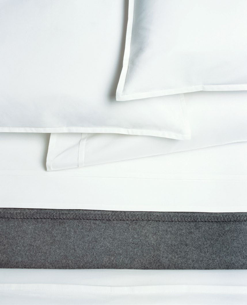 Area Bedding PLEAT Fitted Sheet Cal King