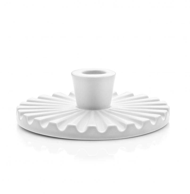 Lucie Kaas Candle Holder Ceramics White