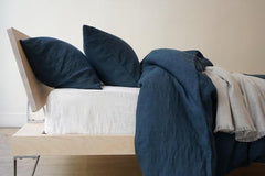 Area Bedding Simone Midnight King Flat Sheet