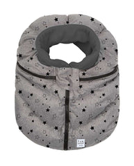 7 A.M. Cocoon Heather Grey with Stars