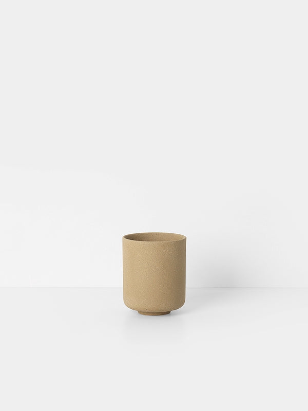 ferm LIVING Sekki Cup - Curry - Large