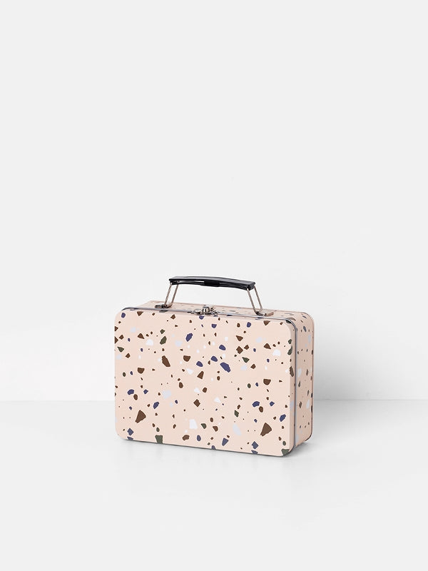 ferm LIVING Terrazzo Lunch Box - Rose