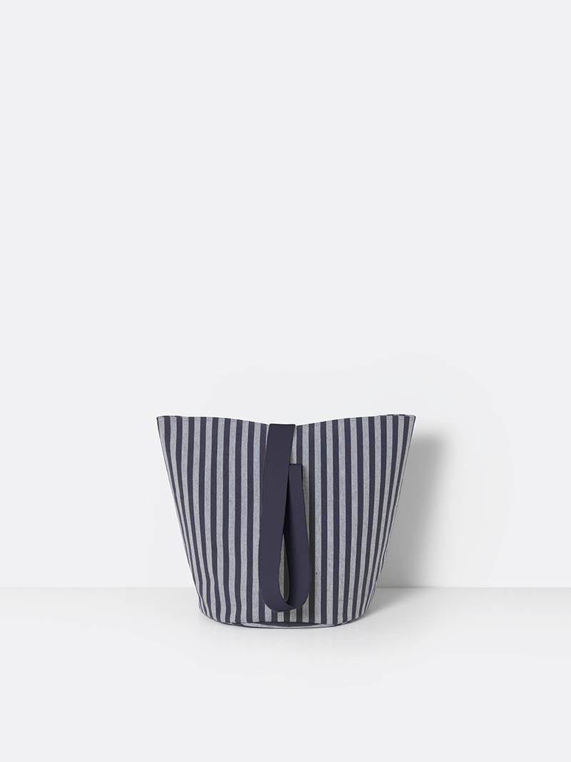 ferm LIVING Chambray Basket Striped - Medium