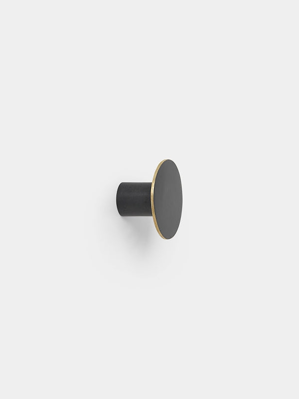 ferm LIVING Hook Black Brass - Small