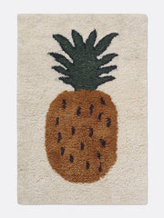 ferm LIVING Fruiticana Tufted Pineapple Rug - Large