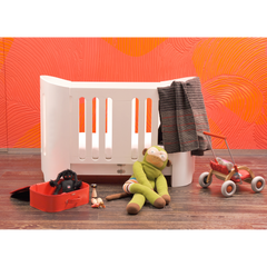 Bloom Luxo Crib - Coconut White
