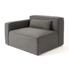 Gus* Modern Mix Modular Left Arm Sectional Piece