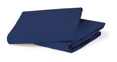 Bloom Tranquil Fitted Sheet Bedding Navy Blue