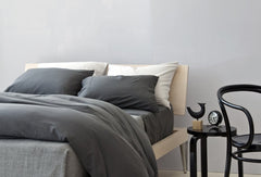Area Bedding Perla Slate Full/Queen Duvet Cover