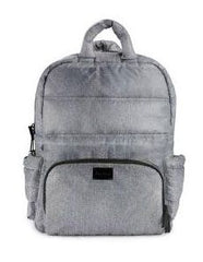7 A.M. BK718 Diaper Bag - Heather Grey