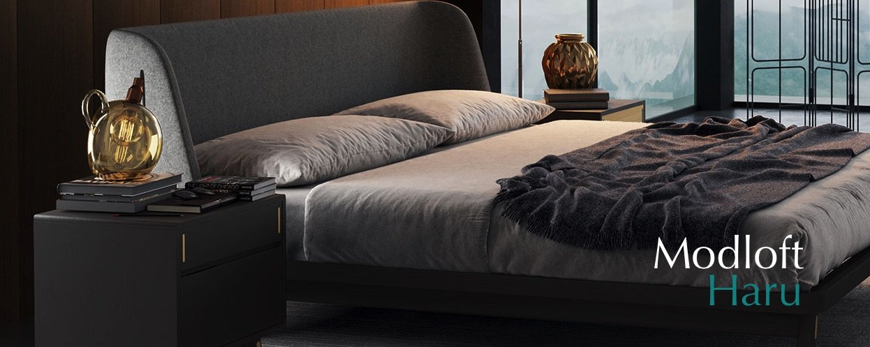 Modloft Jane Bed | Modern Karibou