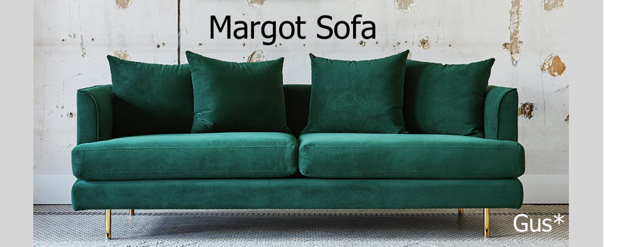 Gus Margot Sofa | Modern Karibou