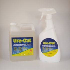 URE-OUT™ Microbial Cleaner Package (700ml Ready to Use, 1L Concentrate)