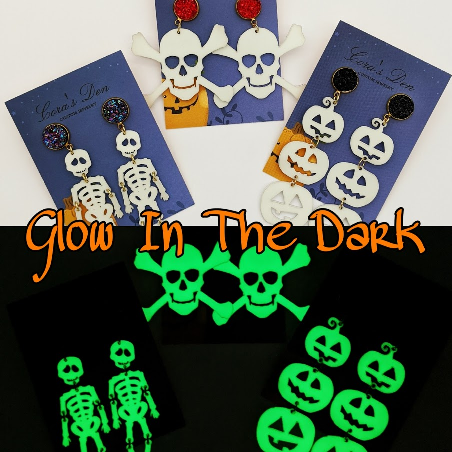 Glow in The Dark Earring Collection