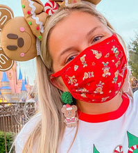 Load image into Gallery viewer, Gingerbread Mickey Earrings