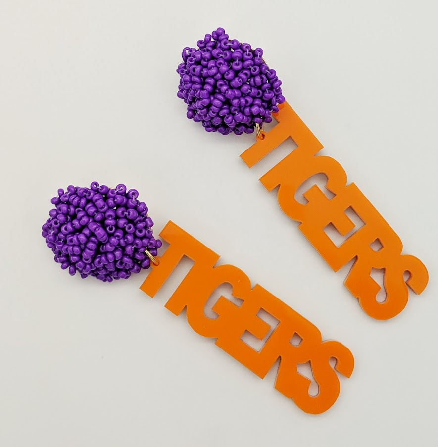 Tigers Earrings
