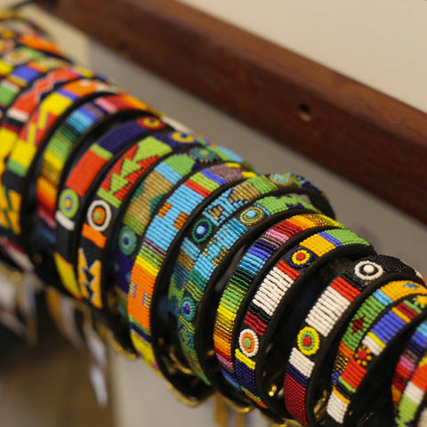 Kenyan Beaded Dog Collars