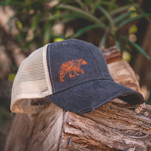 Lifestyle Overland Topo Bear Snap-Back Hat