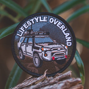 Lifestyle Overland 4Runner Patch (Premium)