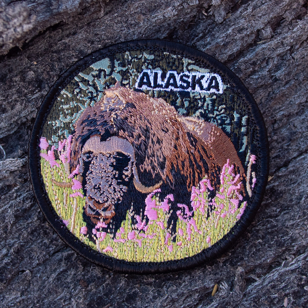 Alaskan Musk Ox Patch by Lifestyle Overland (Limited Edition)