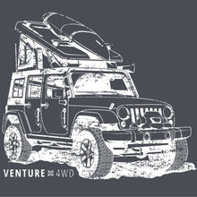 Load image into Gallery viewer, Venture 4WD Jeep T-Shirt
